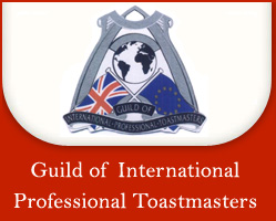 Guild of Toastmasters logo